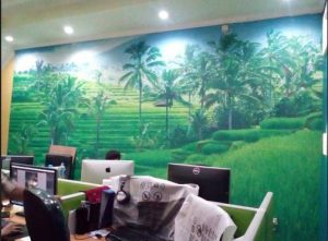 Distributor wallpaper Dining